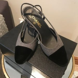 Chanel shoes. Brand new, only worn once.